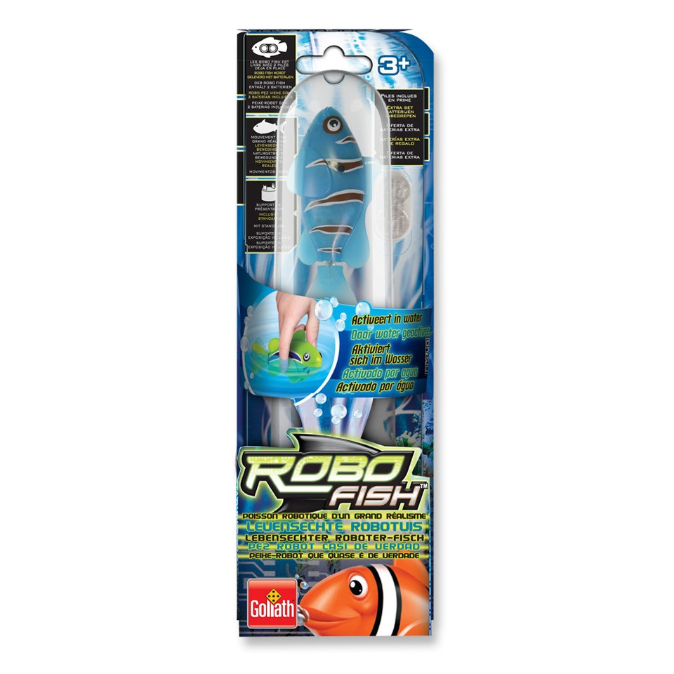 RoboFish 2 clownvis - blauw