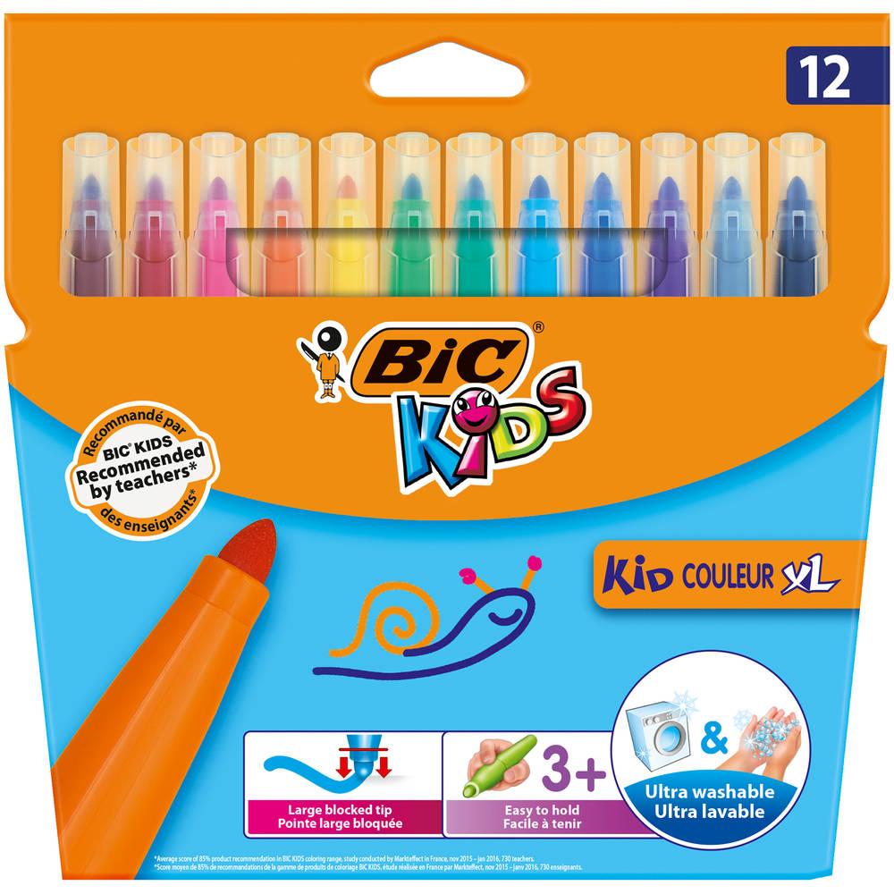 BIC Kids Couleur viltstiften XL - 12 stuks