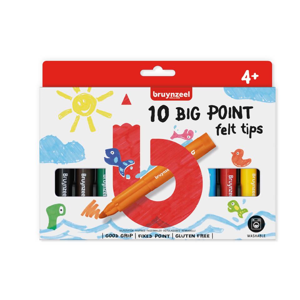 Bruynzeel Big Point 10 stuks