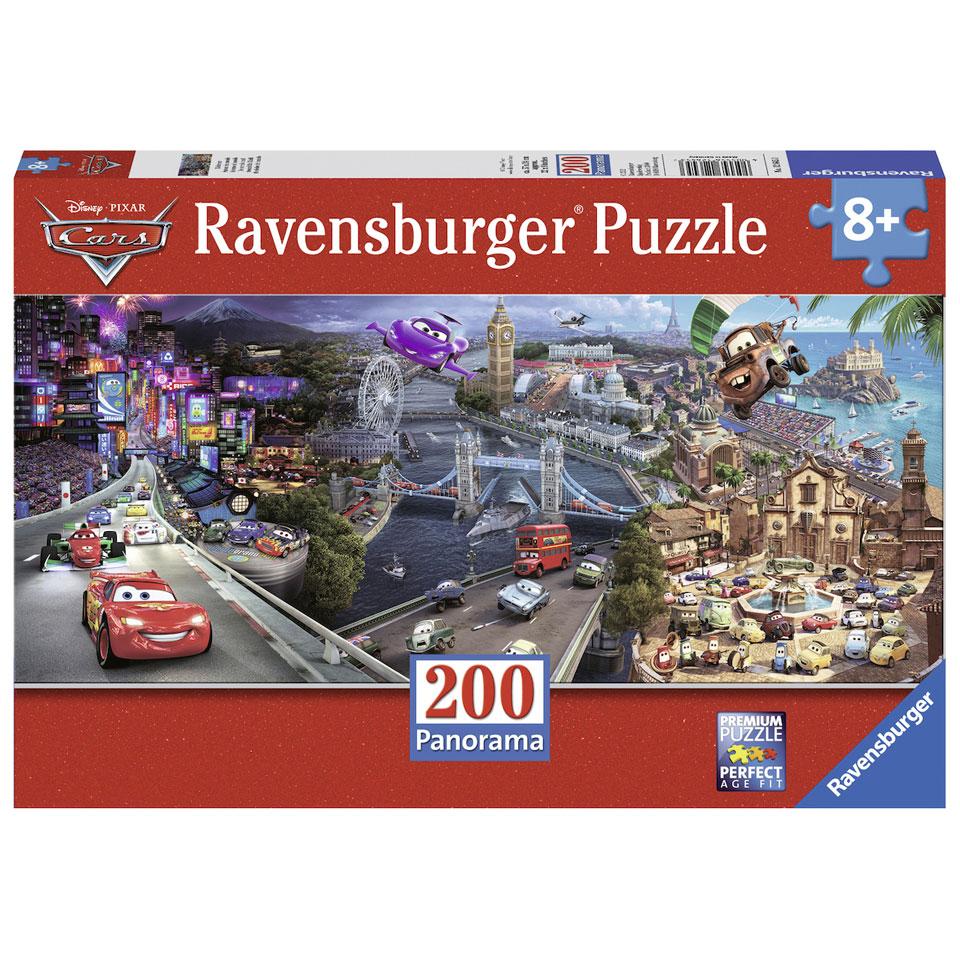 Ravensburger Disney Cars panorama puzzel - 200 stukjes