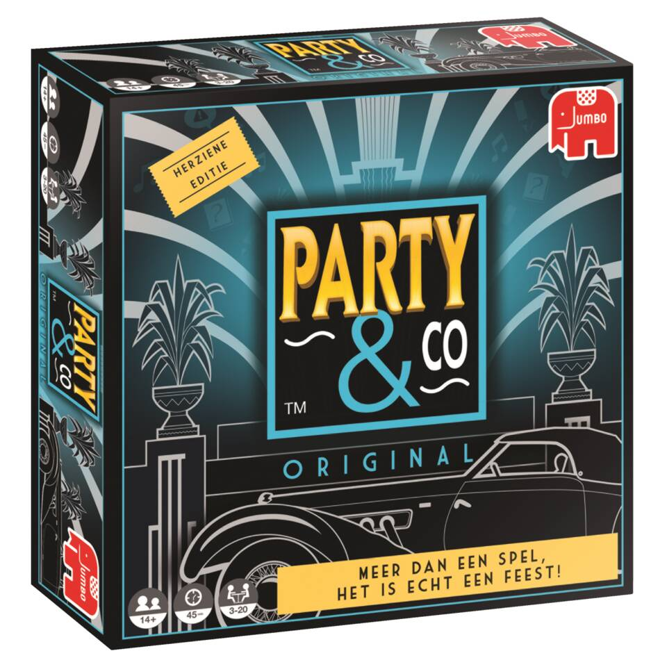 Jumbo Party & Co. Original bordspel