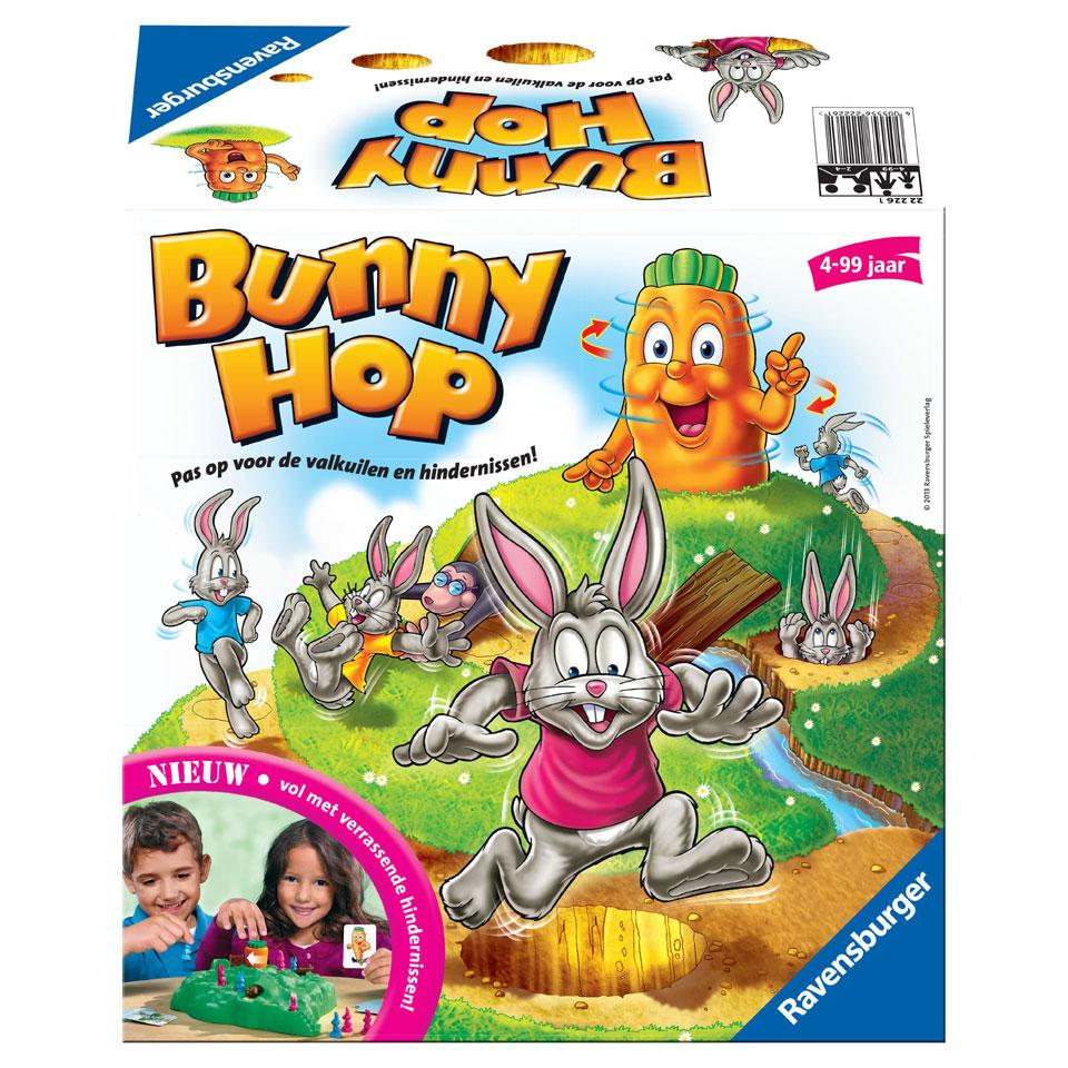 Ravensburger Bunny Hop gezelschapsspel
