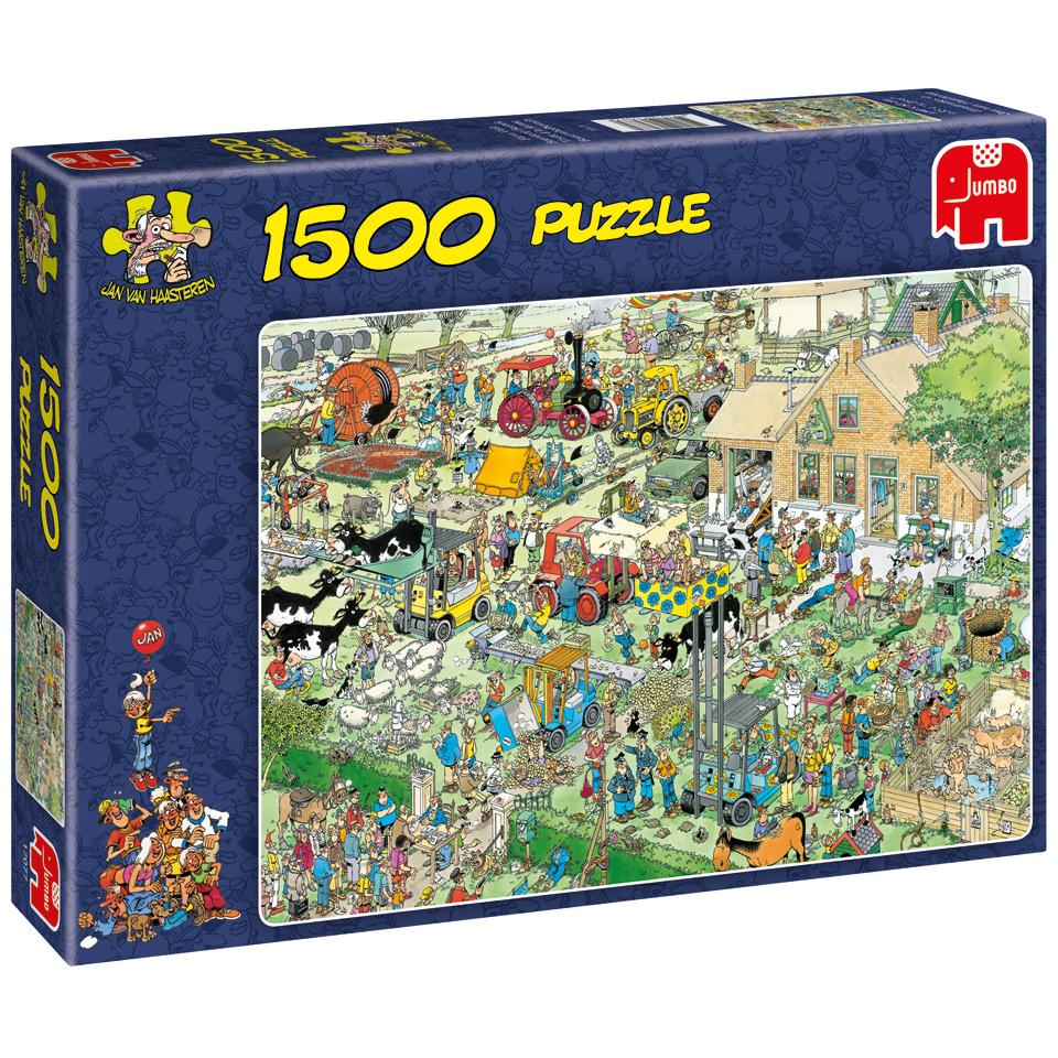 Jumbo Jan van Haasteren puzzel Boerderijbezoek - 1500 stukjes