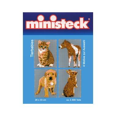 Ministeck Jonge dieren 4-in-1