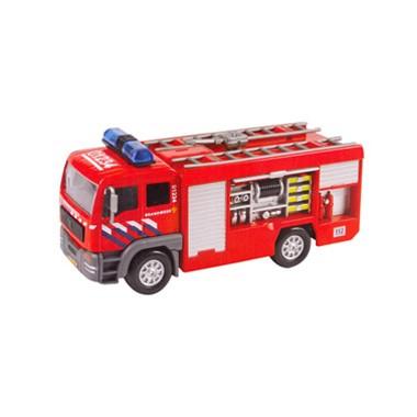 Kids Globe Traffic brandweer met licht en geluid