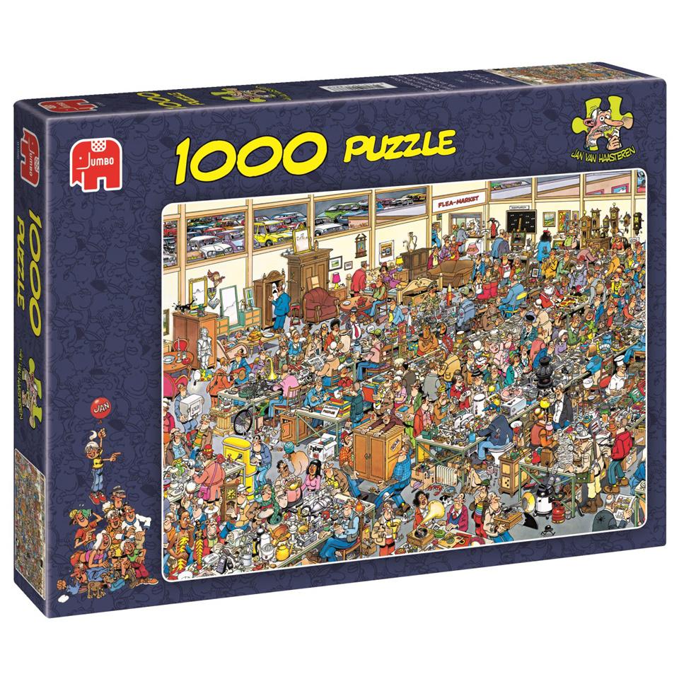 Jumbo Jan van Haasteren puzzel Op zoek naar de schat - 1000 stukjes