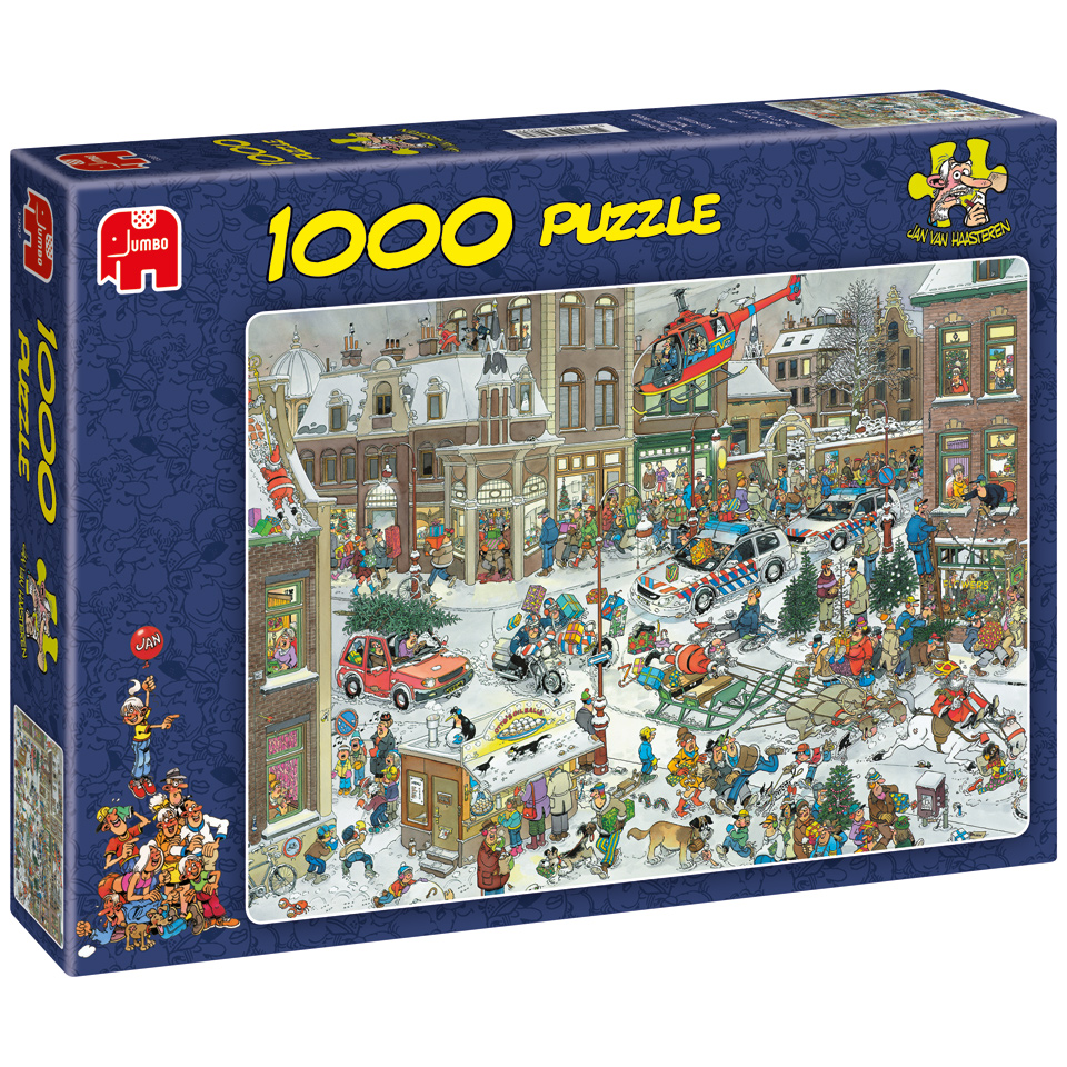 Jumbo Jan van Haasteren puzzel Kerstmis - 1000 stukjes