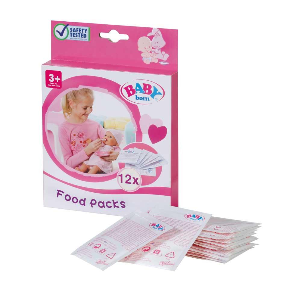 BABY born poppenvoeding