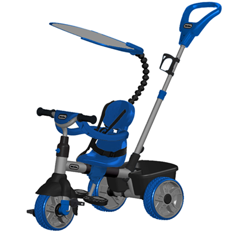 Little Tikes 4-in-1 driewieler - blauw