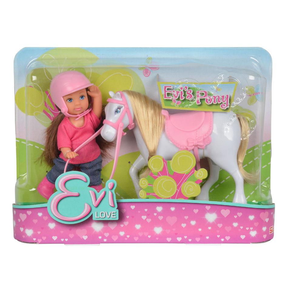 Evi popje met pony