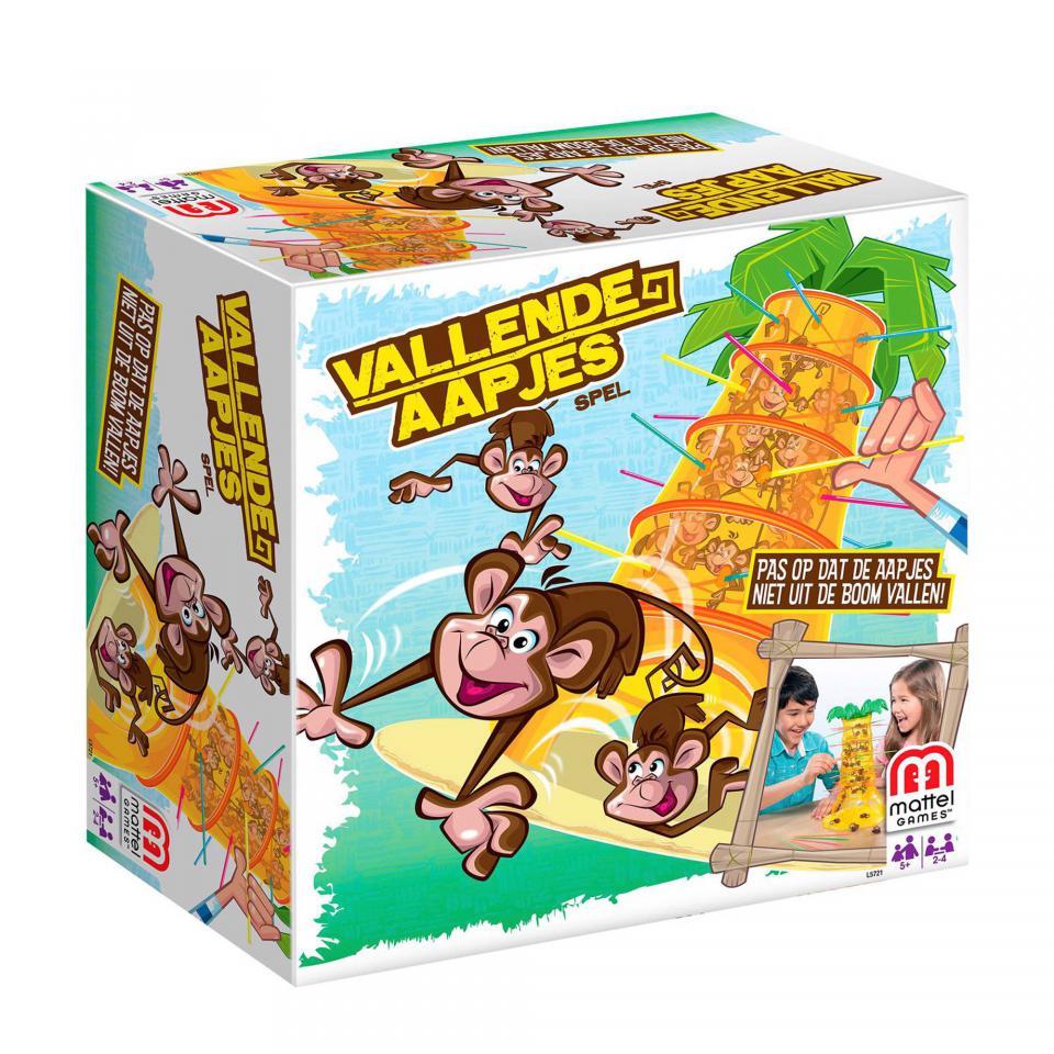 Mattel vallende aapjes - kinderspel