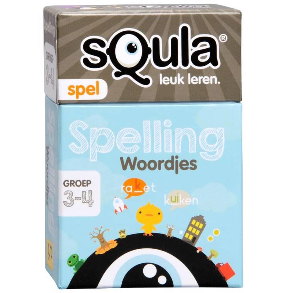 Squla Spelling Woordjes