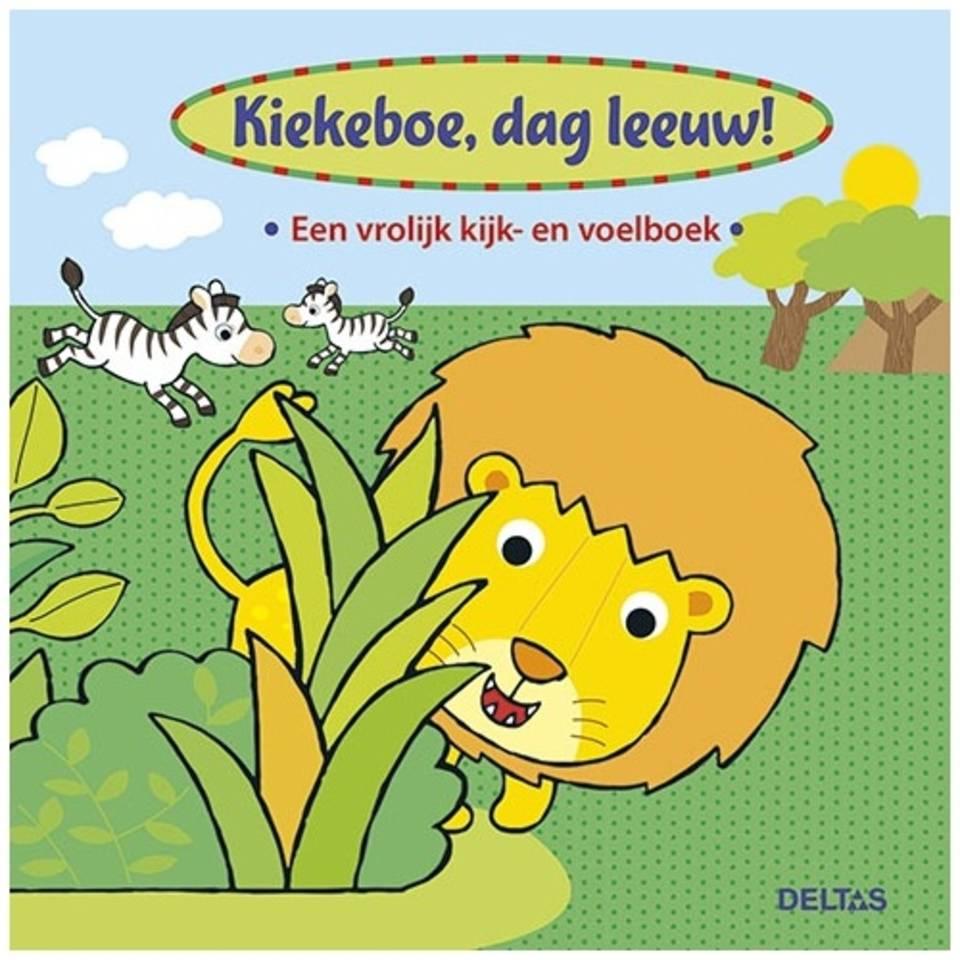Kiekeboe, dag Leeuw! kijk- en voelboek