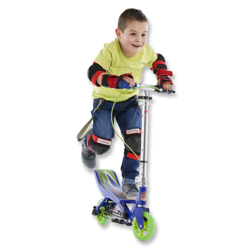 Space Scooter Junior - blauw