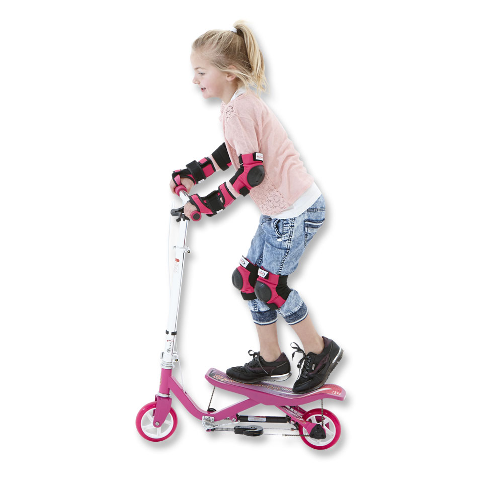 Space Scooter Junior - roze