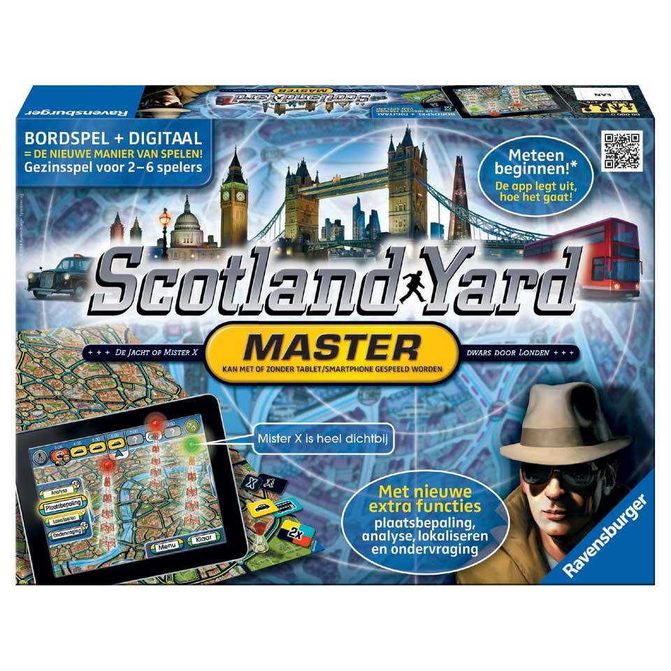 Ravensburger Scotland Yard master bordspel