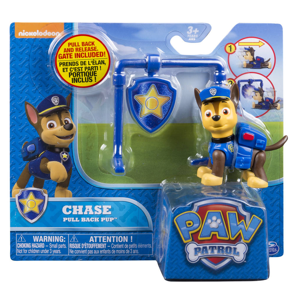 PAW Patrol Pull Back Pups Chase