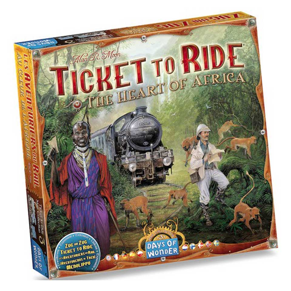 Ticket to Ride The Heart of Africa - Uitbreiding