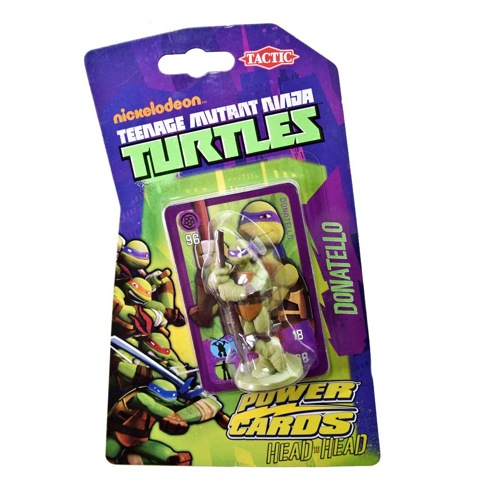 Ninja Turtles Power Cards met Donatello figuur