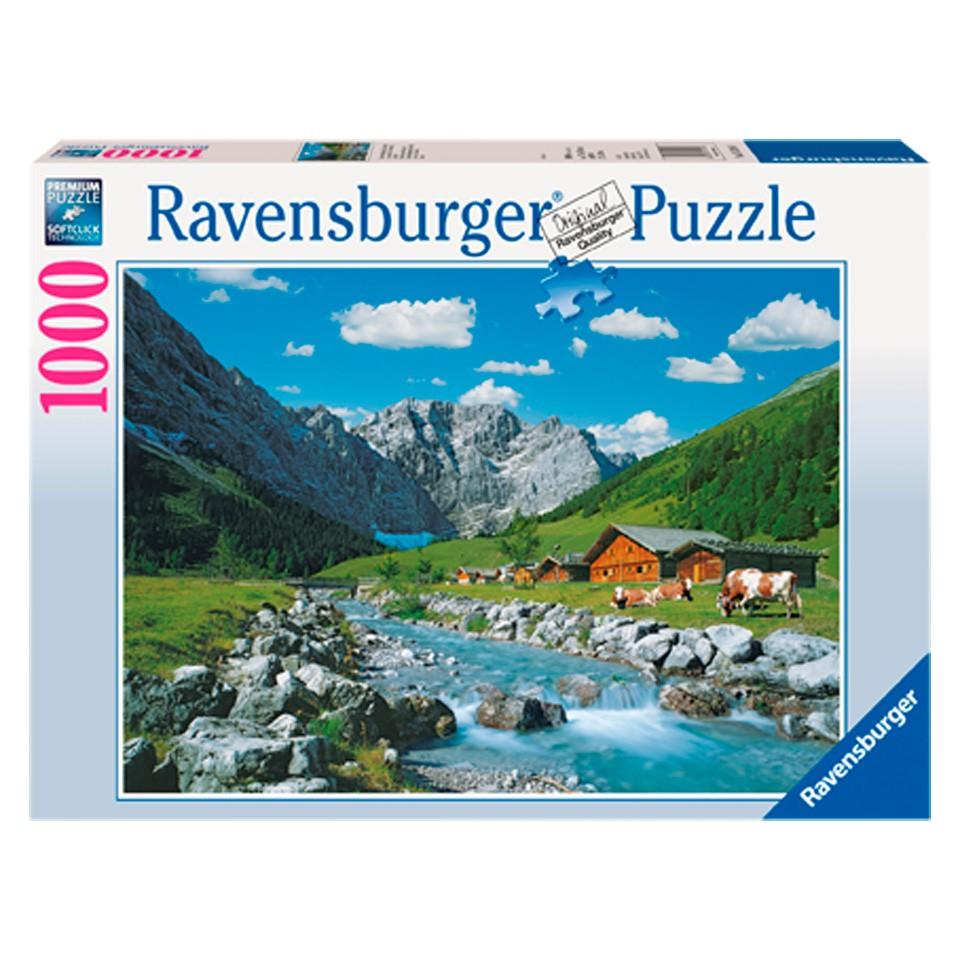 Ravensburger Karwendelgebergte puzzel - 1000 stukjes
