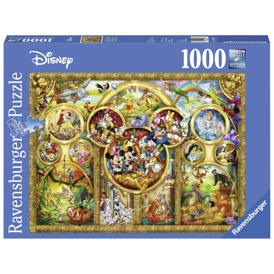Ravensburger puzzel De mooiste Disney thema's - 1000 stukjes