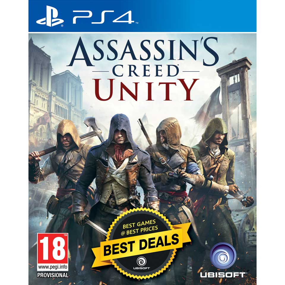 PS4 Assassin's Creed Unity Benelux edition