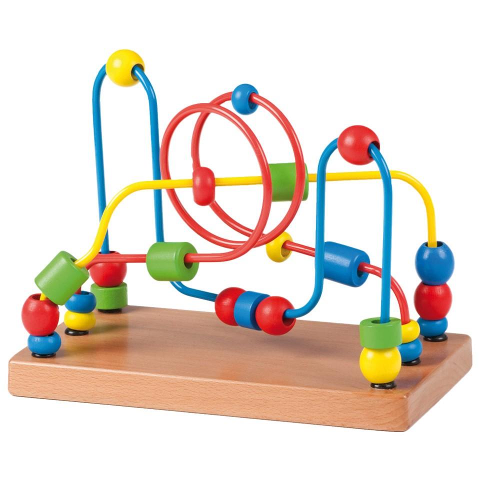Joueco houten kralenbaan