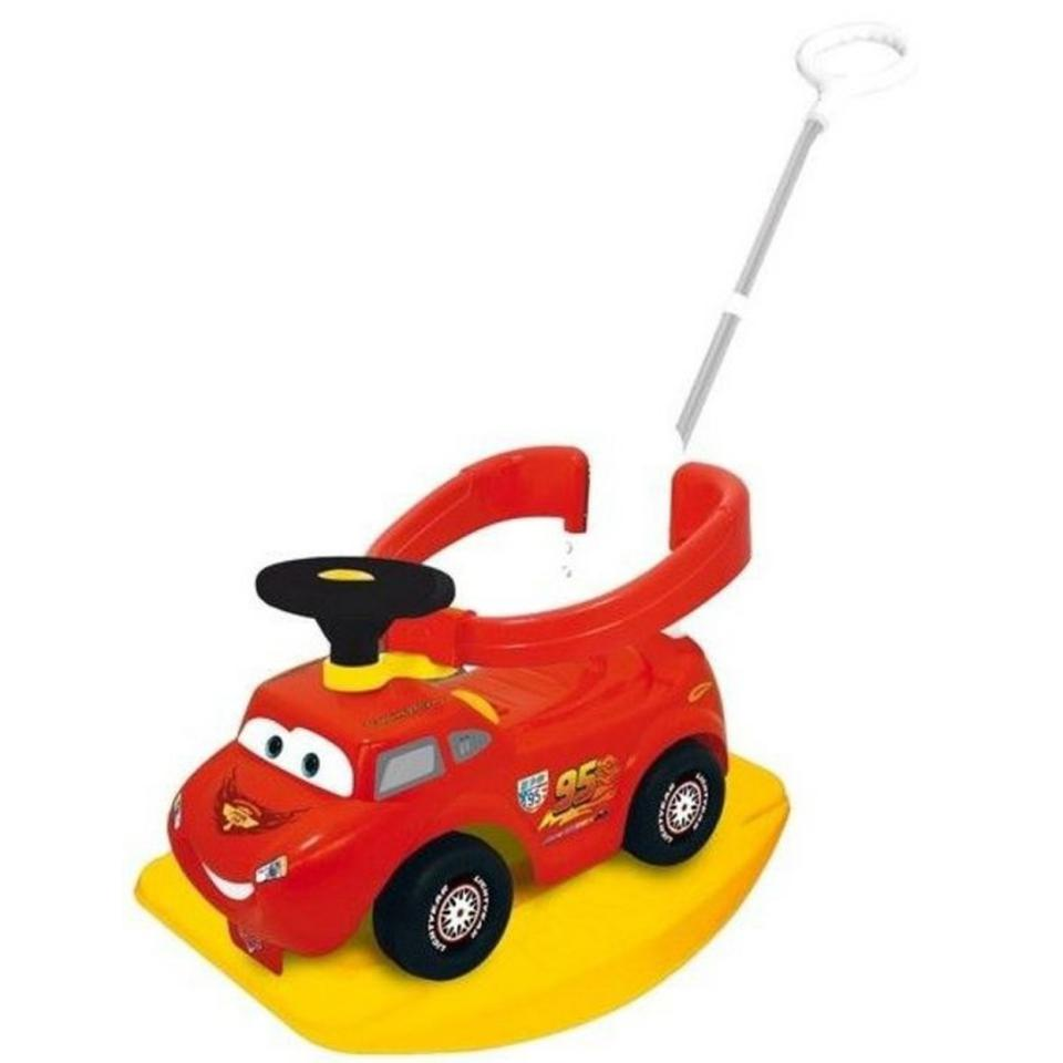 Disney Cars 4-in-1 loop- en duwwagen