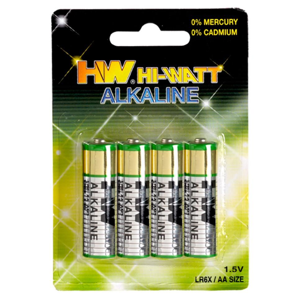 Alkaline LR06-AA-B4 Batterijen