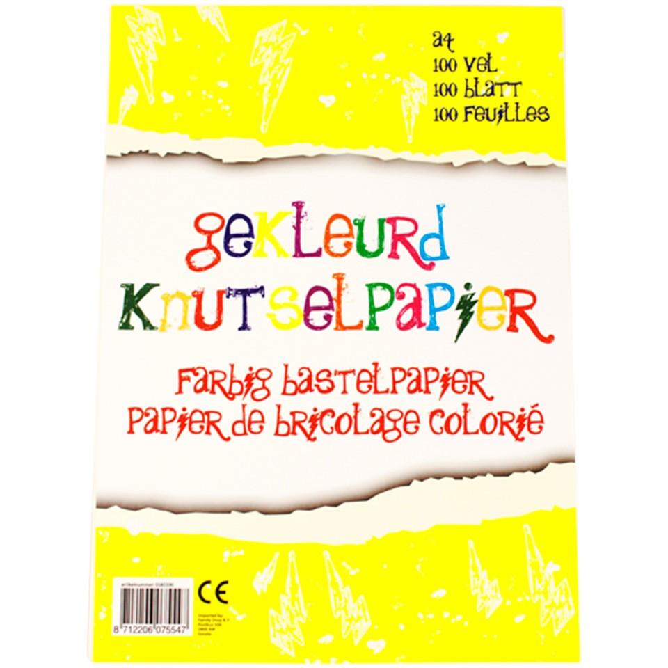 Gekleurd knutselpapier