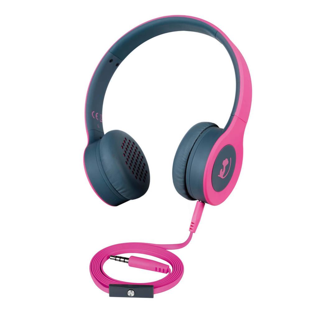 Wonky Monkey on-ear headset - roze