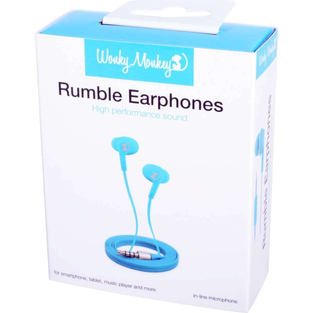 Wonky Monkey in-ear oordopjes - blauw