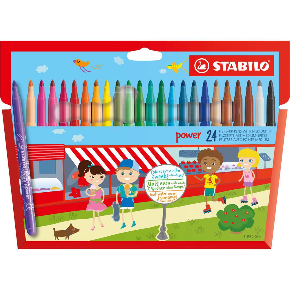 STABILO Power viltstiften - 24 stuks