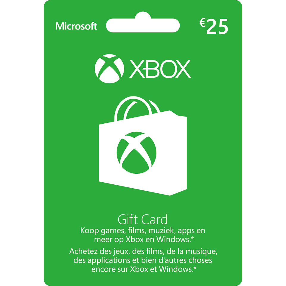 Xbox Live Giftcard 25 euro