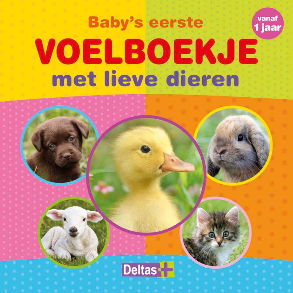 Baby's Eerste voelboekje dieren