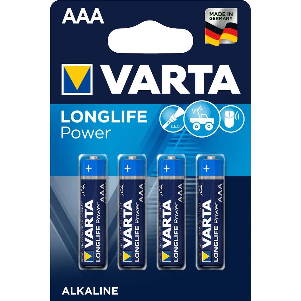Varta High Energy AAA-batterijen set 4-delig