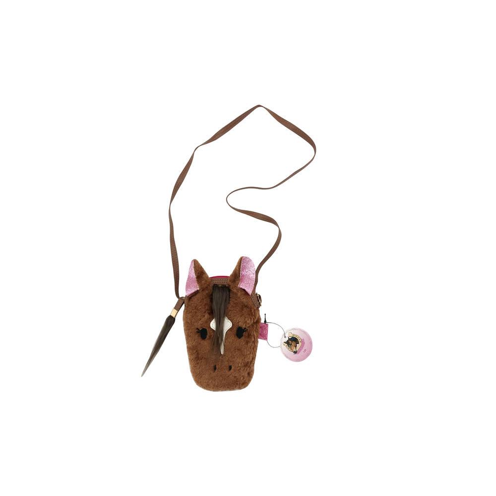 Little Concepts Dream Horses pluchen handtasje