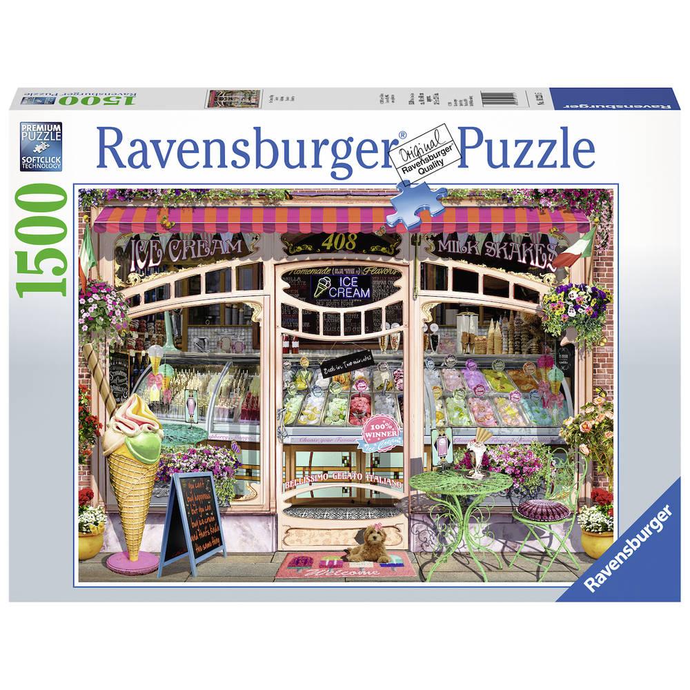 Ravensburger puzzel ijssalon - 1500 stukjes