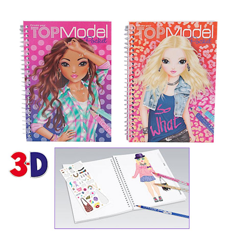 TOPModel Pocket 3D tekenboek