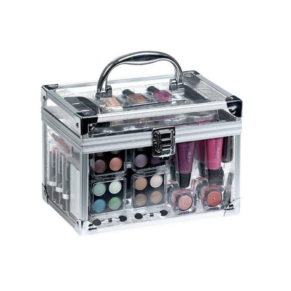 Transparante make-upkist