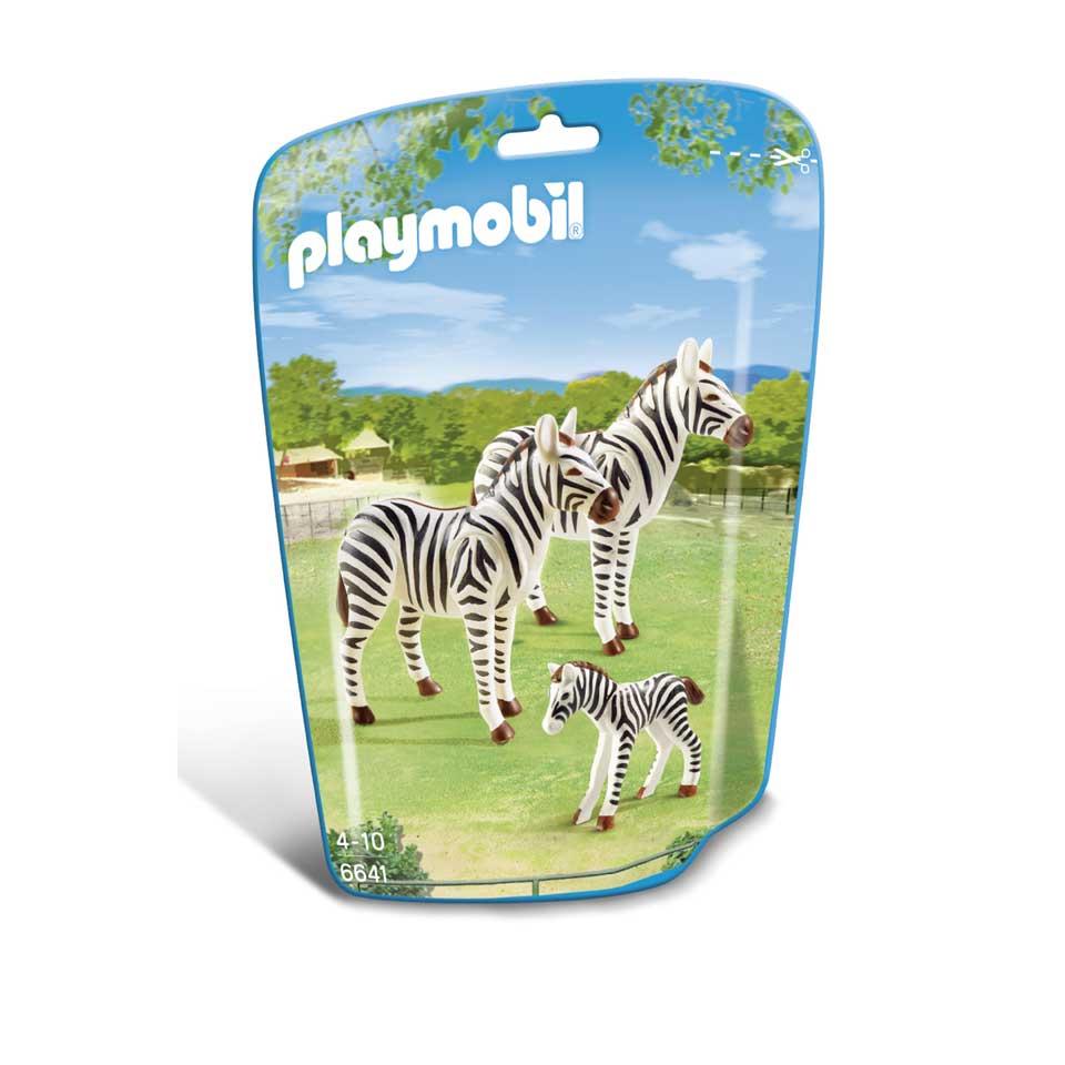 PLAYMOBIL zebrafamilie 6641