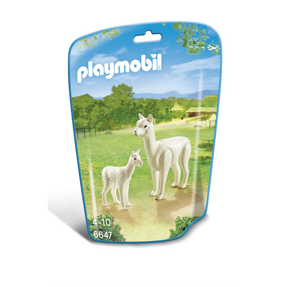PLAYMOBIL alpaca met baby 6647
