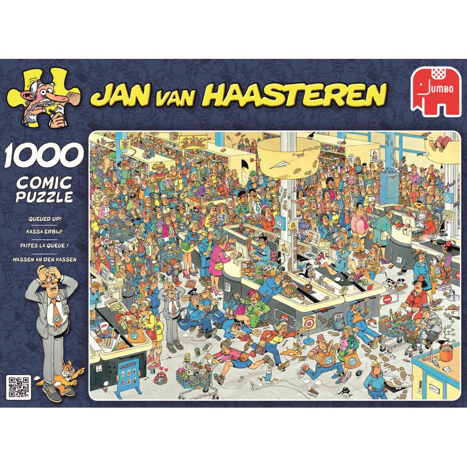 Jumbo Jan van Haasteren puzzel Kassa erbij! - 1000 stukjes