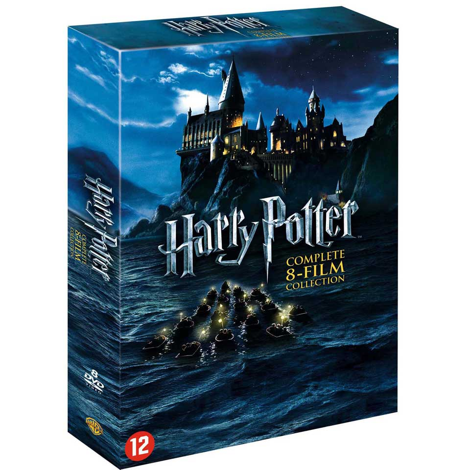 DVD Harry Potter collectie box