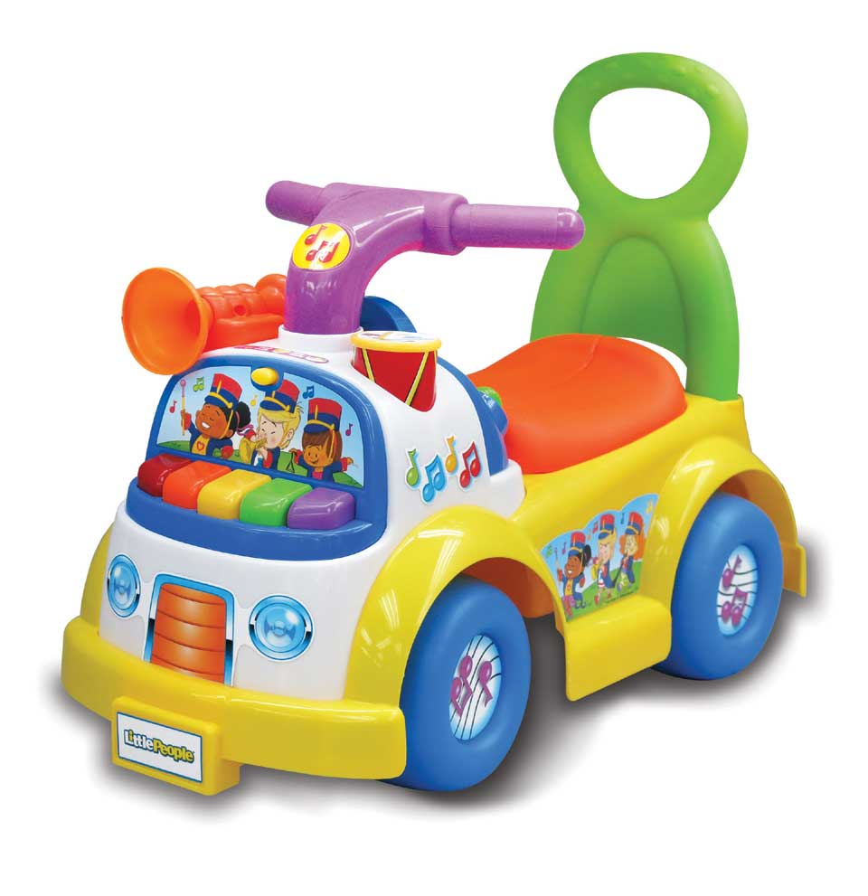 Fisher-Price Little People muziekparade loopauto