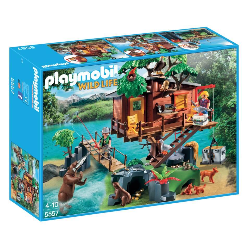 PLAYMOBIL Wild Life avontuurlijke boomhut 5557
