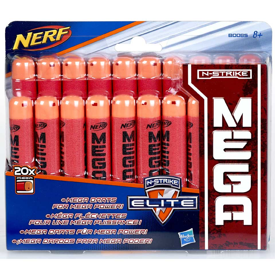 NERF Mega Darts navulset 20 stuks