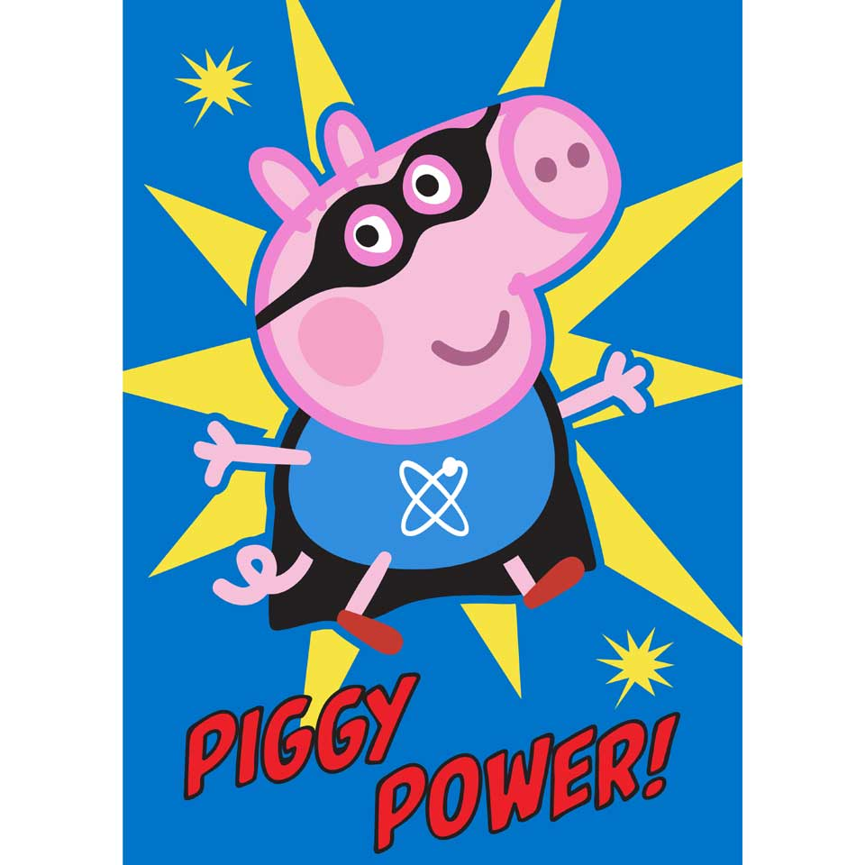 Peppa tapijt Piggy Power