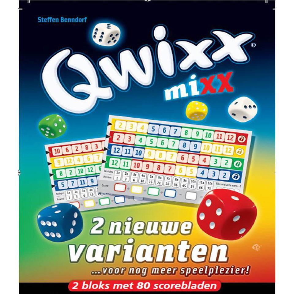 Qwixx Mixx spel
