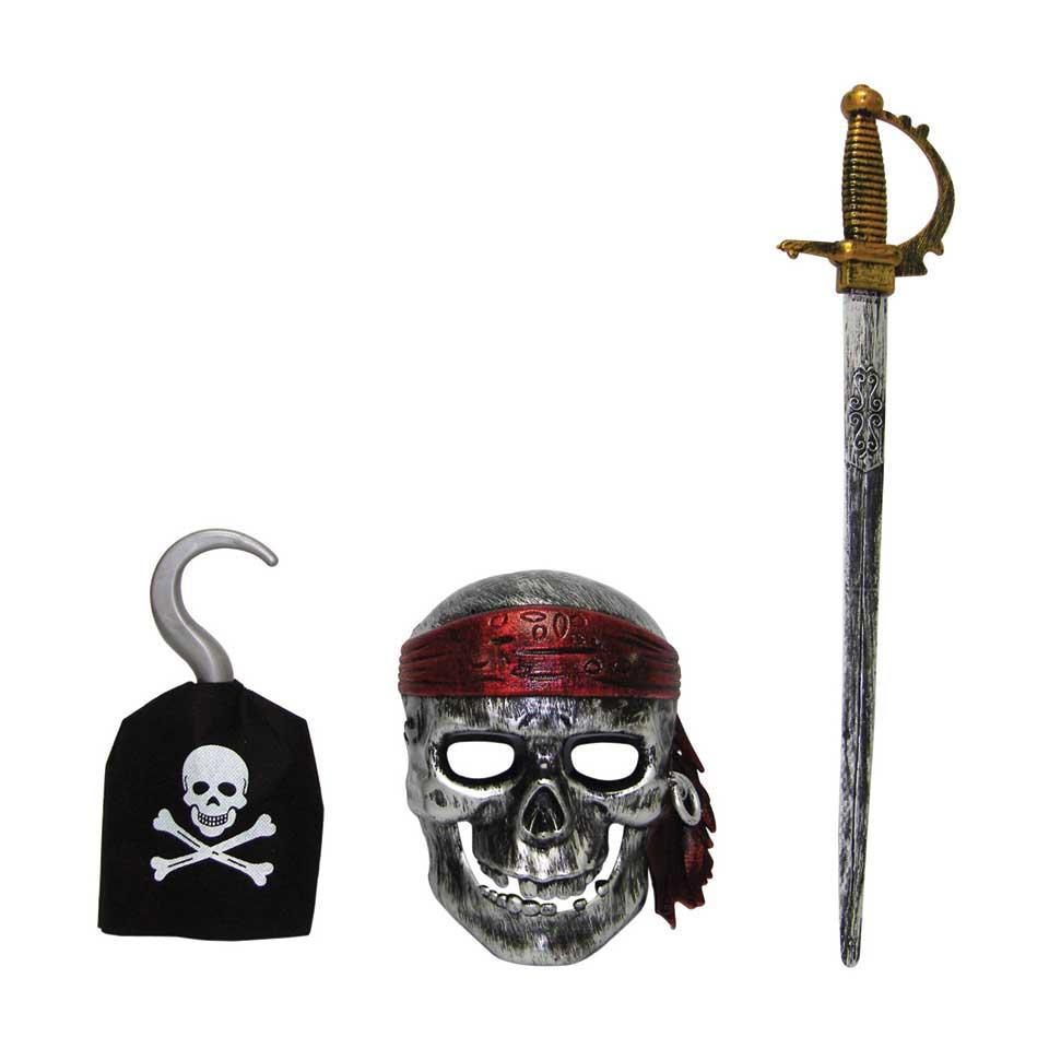 Piratenset 3-delig